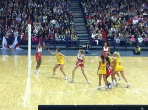 England v Australia Netball Series