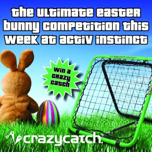 Visit http://www.facebook.com/ActivInstinct for your chance to win a Crazy Catch Upstart in their Easter Competition