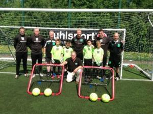 Richard Beghin and the NI GK Academy team