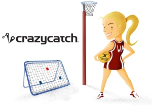 Netball Magazine COMPETITION – Win a Crazy Catch Freestyle