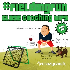 #FIELDINGFUN – Week 1 Close Catching