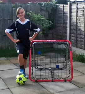 """My biggest dream is to play in the Women's Super League, that would be great!!"" says young Crazy Catch super fan Antonia Smith"