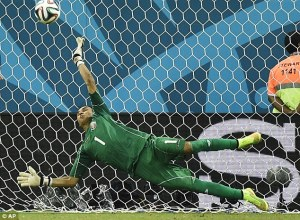 Costa Rica keeper Keylor Navas, under the tutelage of Luis Llopis, is taking the World Cup by storm