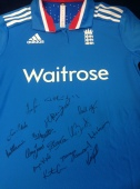 Signed England Women's Cricket shirt