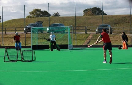 Crazy Catch for Hockey at Millfield School