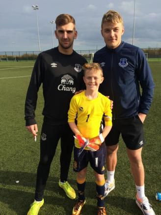 Russell, Jindrich and a young GK