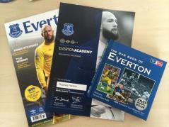 Everton academy certificate