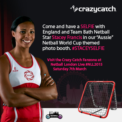 The Crazy Catch at Netball London Live