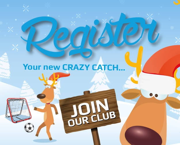 Register your Crazy Catch now