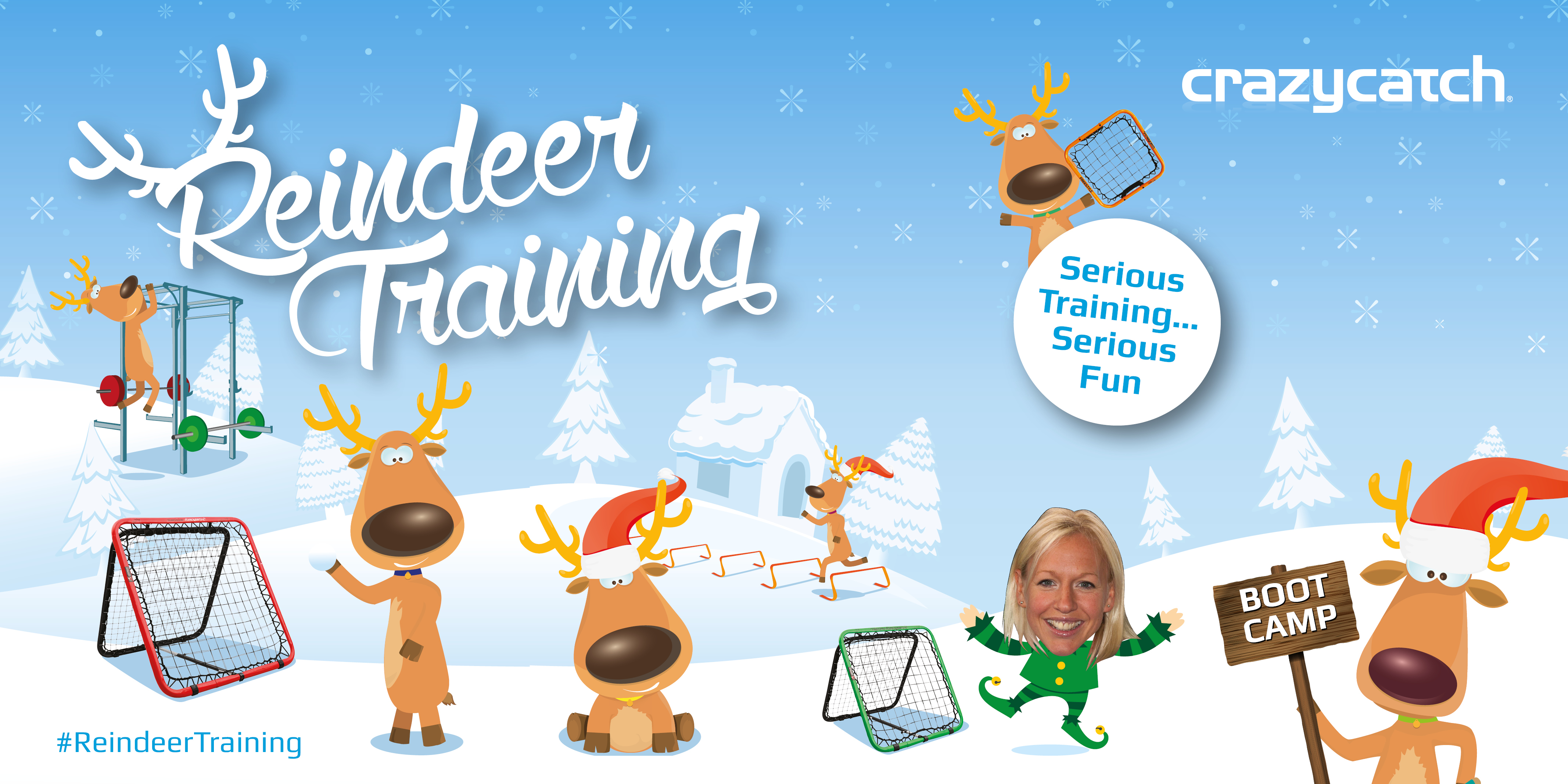 A gruelling boot camp to kick of #ReindeerTraining